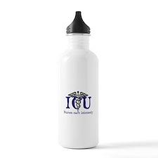 ICU Nurses care intensely Water Bottle