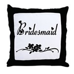 Classic Bridesmaid Throw Pillow
