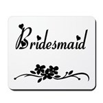 Classic Bridesmaid Mousepad