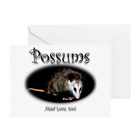 Possums Need Love Too Greeting Card