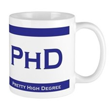 PhD Degree Small Mug