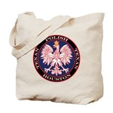 Houston Round Polish Texan Tote Bag
