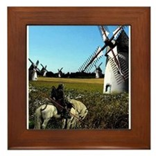 Quixote Framed Tile