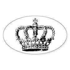 Black Crown Decal