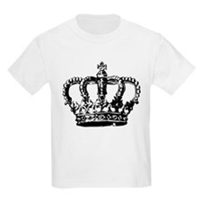 Black Crown Kids T-Shirt