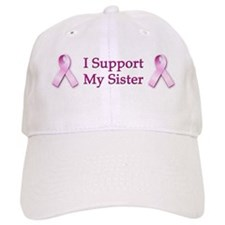 I Support My Sister Baseball Cap