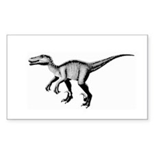 Velociraptor Rectangle Decal