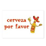 Cerveza Por Favor @Scott Designs Postcards (Packag