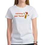 Cerveza Por Favor @Scott Designs Women's T-Shirt