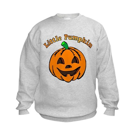 Little Pumpkin Kids Sweatshirt