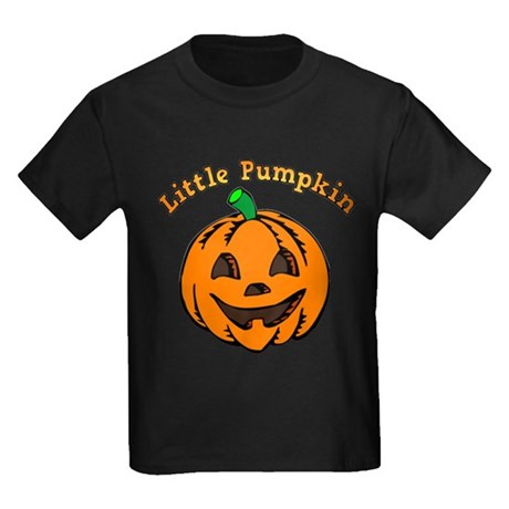 Little Pumpkin Kids Dark T-Shirt