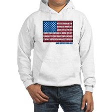 Flag Pledge of Allegiance Hoodie