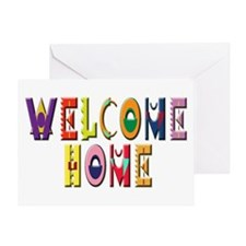 Welcome Home Bright Greeting Card