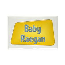 Baby Raegan Rectangle Magnet (100 pack)