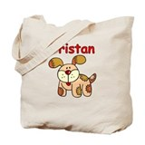 Tristan Puppy Tote Bag