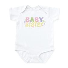 Baby Sister Flowers Infant Bodysuit