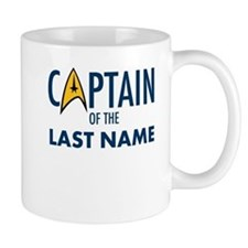 Star Trek Personalized Father's Day Mug