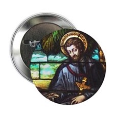 "St. Francis Xavier 2.25"" Button (100 pack)"