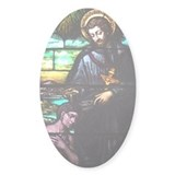 St. Francis Xavier Oval Decal