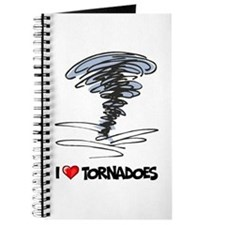 I Love Tornado Journal