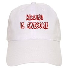 Reading is awesome Baseball Cap