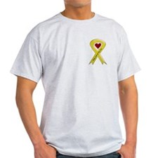 Take Care of my Son Yellow Ribbon T-Shirt