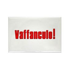 Vaffanculo! Rectangle Magnet