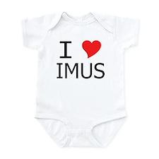 I Heart Imus Infant Bodysuit
