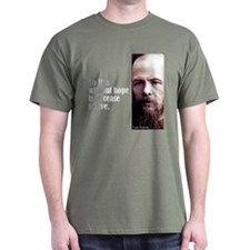 "Dostoevsky ""Without Hope"" T-Shirt"