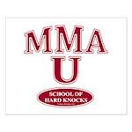 MMA School Of Hard Knocks Small Poster
