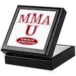 MMA School Of Hard Knocks Keepsake Box