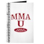 MMA School Of Hard Knocks Journal