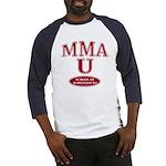 MMA School Of Hard Knocks Baseball Jersey