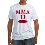 MMA Shirts School Of Hard Knocks Fitted T-Shirt