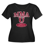 MMA School Of Hard Knocks Plus Size Scoop Tee