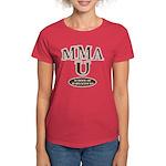 MMA School Of Hard Knocks Women's Red T-Shirt