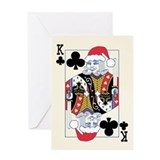"""Ho Ho Hold'em"" Holiday Greeting Card"