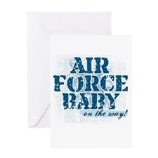 Air Force Baby On the Way Greeting Card