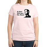 Al Gore Will Save The Planet T-Shirt