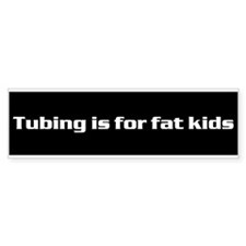 Funny Skiing kids Bumper Sticker