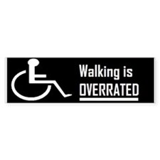 wheelchair Bumper Bumper Sticker