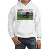Lighthouse Wire Haired Dachshund Jumper Hoody