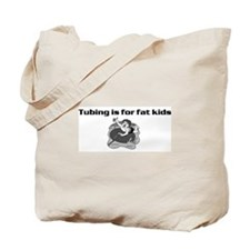 Cute Skiing kids Tote Bag