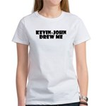 Kevin-John Women's Fan Tee