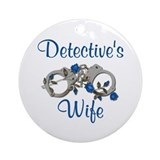 Detective's Wife Ornament (Round)