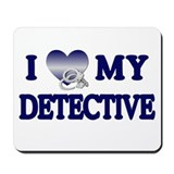 Love My Detective Mousepad
