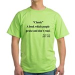 Mark Twain 25 Green T-Shirt