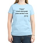 Mark Twain 25 Women's Light T-Shirt