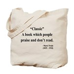 Mark Twain 25 Tote Bag