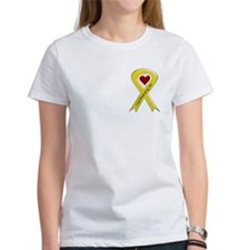 I Am Proud Of My Son Yellow Ribbon Tee